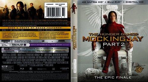 Голодные игры: Сойка-пересмешница. Часть I-II / The Hunger Games: Mockingjay - Part 1 Part II (2014)