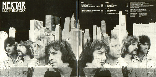 Nektar - Live In New York ( 1977)