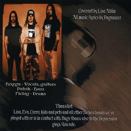 Depression / Paganizer - Unglaube / Split Wide Open (2008 Suffer Productions, Sonopress, Germany)