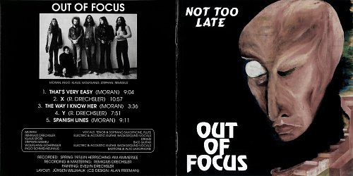 Out Of Focus - Not Too Late (1974)