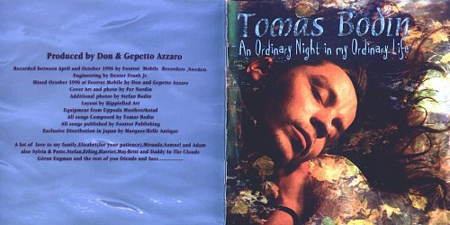 Tomas Bodin (Flower Kings) - An Ordinary Night In My Ordinary Life (1996)