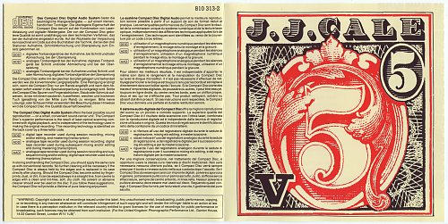 J.J.Cale - 5 (1979)