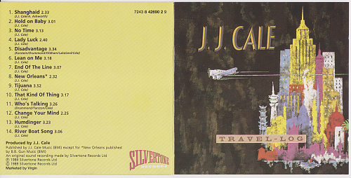 J.J. Cale - Travel-Log (1989)