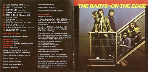 Babys, The - On The Edge (1980)
