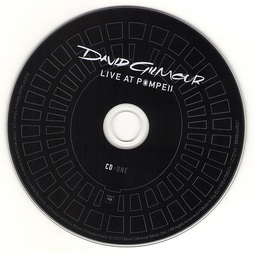 David Gilmour - Live At Pompeii (full cd)