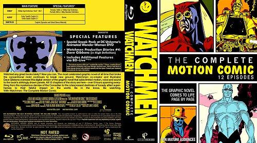 Хранители Видеокомикс / Watchmen Motion Comic (2008)