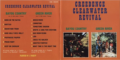 Creedence Clearwater Revival - Bayou Country / Green River (1969)