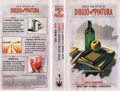 Curso Practico De Dibujo Y Pintura  / Практический курс рисования и живописи  (1998)