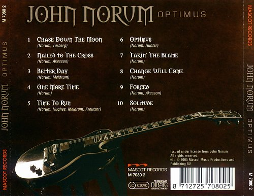 John Norum - Optimus (2005)