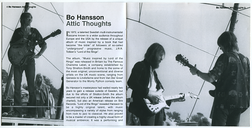 Bo Hansson - Attic Thoughts (1975)