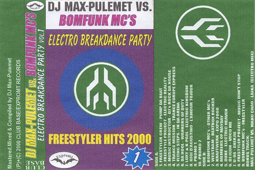 Dj Max-Pulemet Vs. Bomfunk Mc's - Electro Breakdance party 1 (2000)