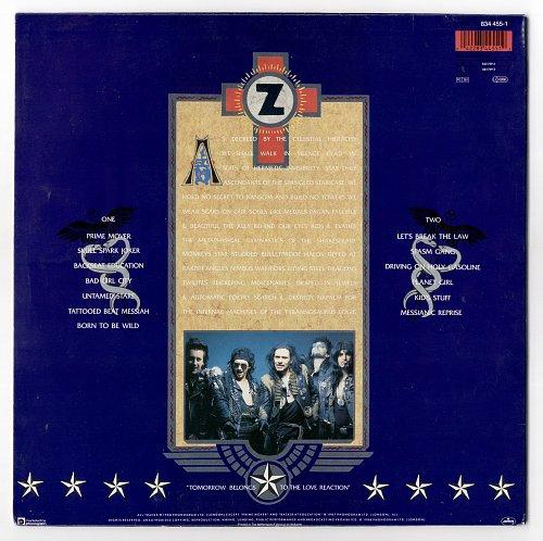 Zodiac Mindwarp - Tattooed Beat Messiah (1988)