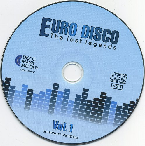 V.A. - Euro Disco: The Lost Legends Vol. 01 (2017)