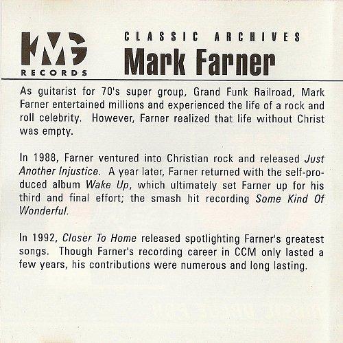 Mark Farner (Grand Funk Railroad) - Wake Up + Closer to Home (2000)