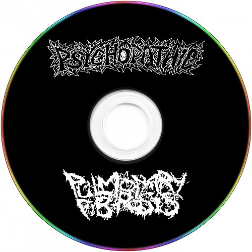 Psychopathic / Pulmonary Fibrosis (2013 The Cripple Room, Flame St.; 2015 Rottenpyosis Rec., Taiwan)