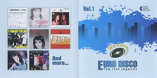 Euro Disco: The Lost Legends Vol. 01 (2017)