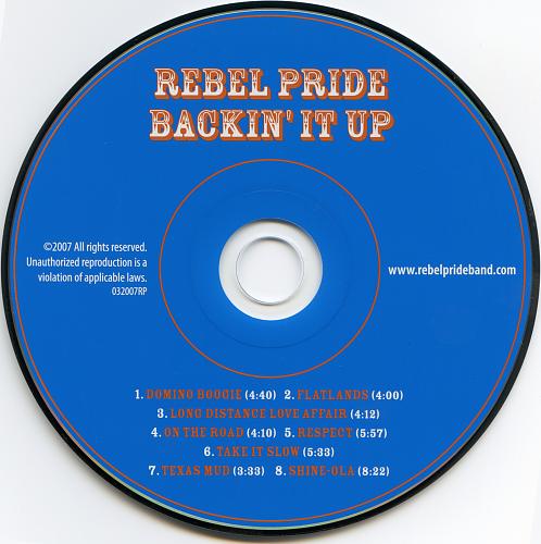 Rebel Pride - Backin' It Up (2007)