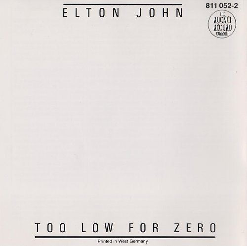 Elton John - Too Low for Zero (1983)