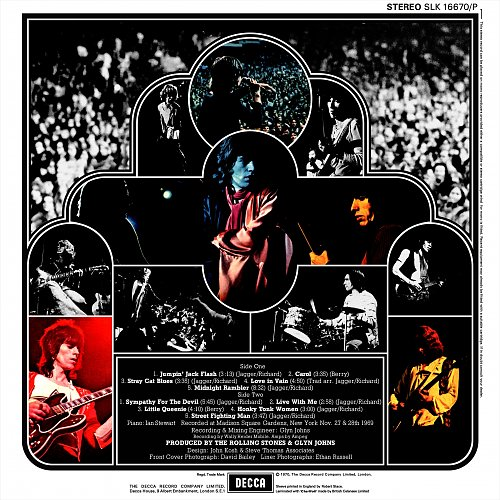 Rolling Stones, The – Get Yer Ya-Ya's Out! - The Rolling Stones In Concert (1970)