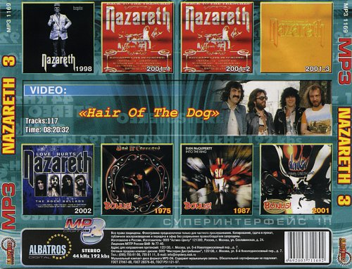 Nazareth - MP3 Position vol.3