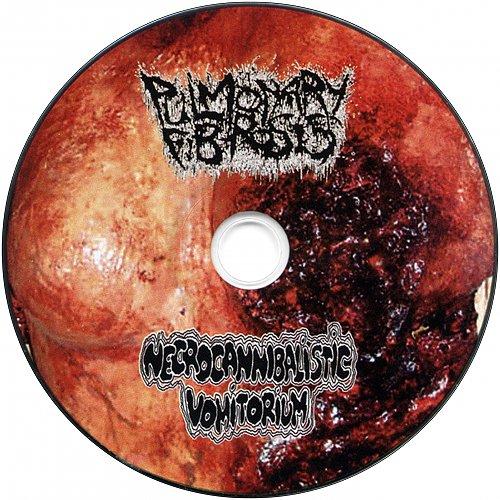 Pulmonary Fibrosis / Necrocannibalistic Vomitorium (2010 Cripple; 2012 Horns & Hoofs Rec's, Ukraine)