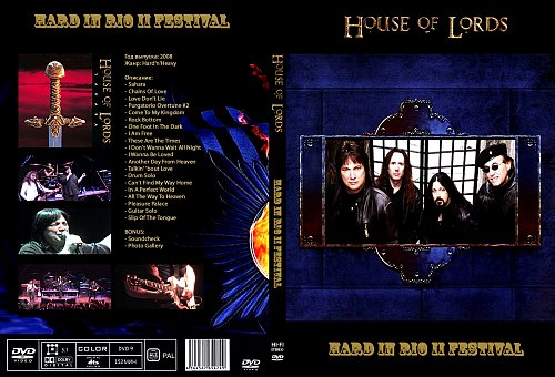 House Of Lords - Hard In Rio II Festival (2008)
