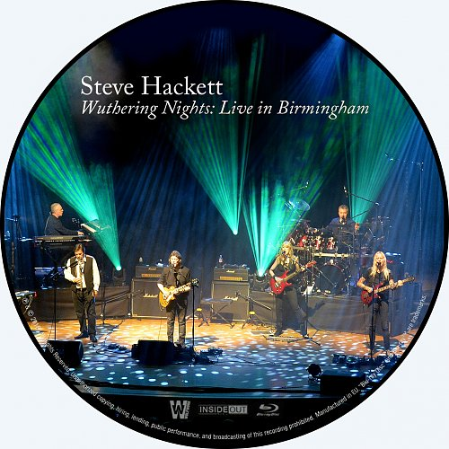 Steve Hackett - Wuthering Nights: Live In Birmingham (2018)