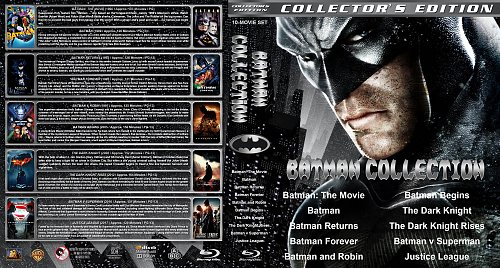Бэтмен 10в1 / Batman Collection (1966-2017)