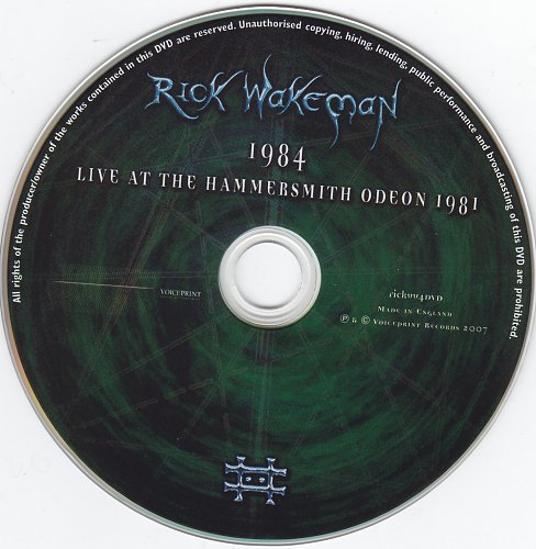 Rick Wakeman - 1984 Live at the Hammersmith Odeon 1981 (2007)