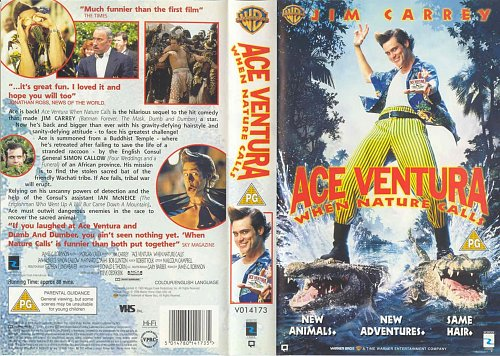Эйс Вентура: Когда Зовет Природа / Ace Ventura: When Nature Calls (1995)