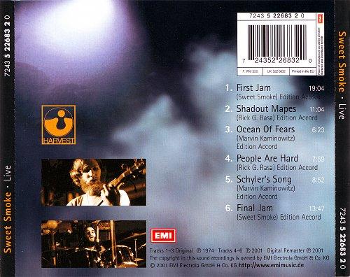 Sweet Smoke - Live (1974)