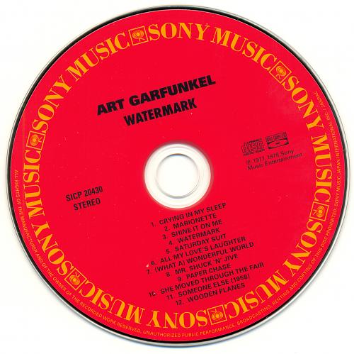Art Garfunkel - Watermark (1977)