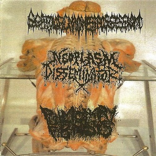 Scatologic Madness Possession / Neoplasm Disseminator / Pulmonary Fibrosis (2003 Vomitorium, Brazil)