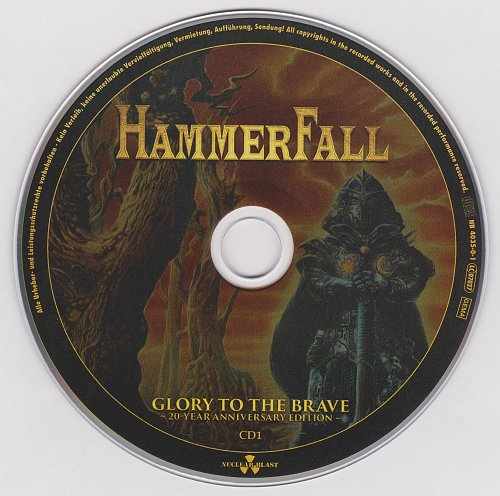HammerFall - Glory To The Brave (20-Year Anniversary Edition) - 2017