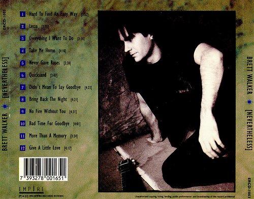 Brett Walker - Nevertheless (1994)