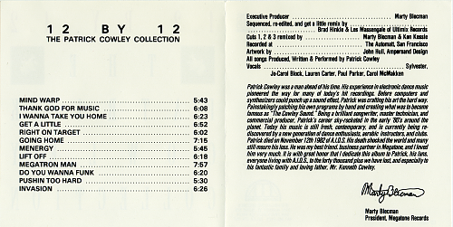 Patrick Cowley - 12 By 12-The Patrick Cowley Collection (1988)