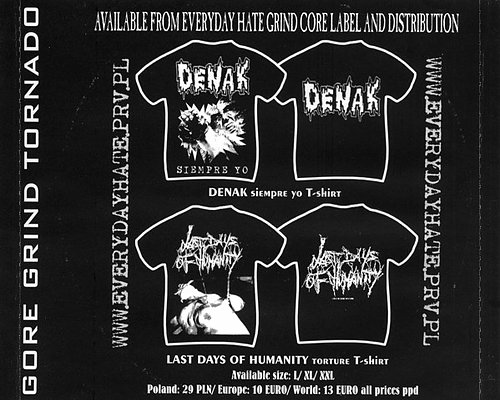 Carnal Diafragma / Pulmonary Fibrosis (2003 Cataleptic Remains Prod., France; EveryDayHate, Poland)
