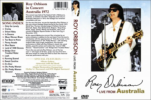 Roy Orbison - Live from Australia (1972)