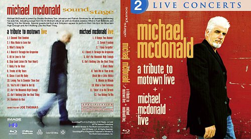 Michael McDonald - Live + A Tribute to Motown Live (2011)
