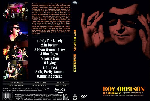 Roy Orbison - Live! In Texas (1986)