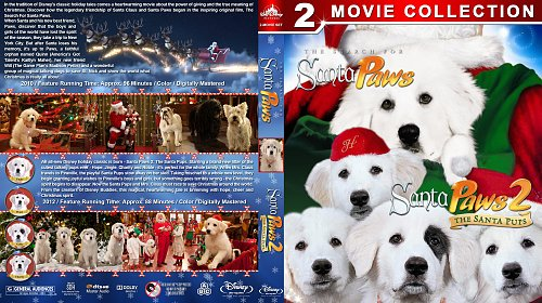 Санта Лапус 2в1 / Santa Paws Double Feature (2010-2012)