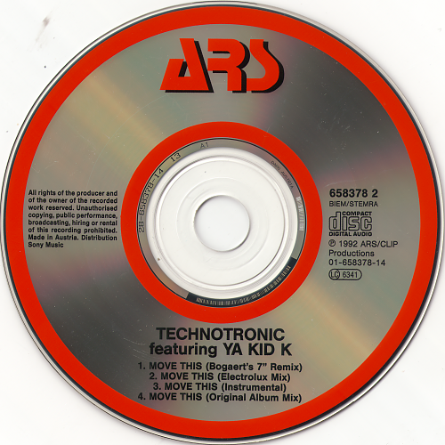 Technotronic Feat. Ya Kid K - Move This (1992)
