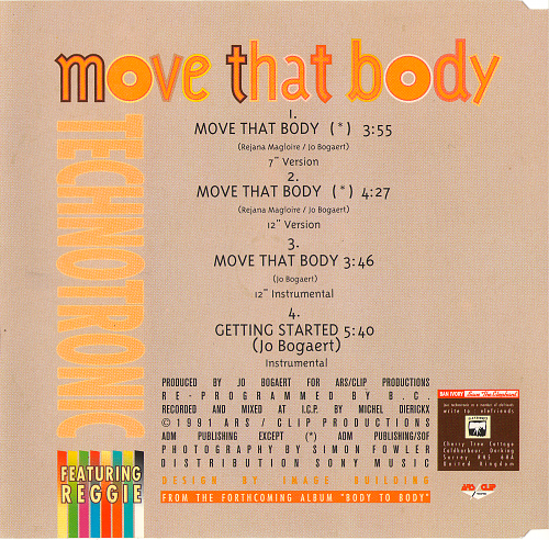Technotronic feat. Reggie - Move That Body (1991)