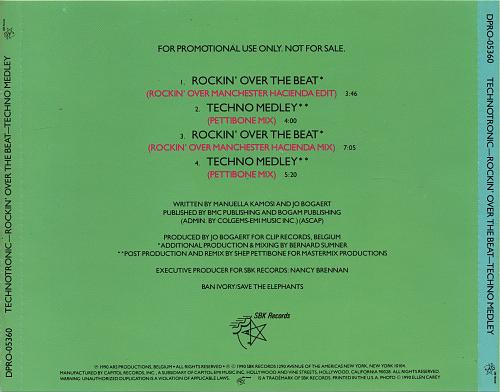 Technotronic - Rockin' Over The Beat (1990)