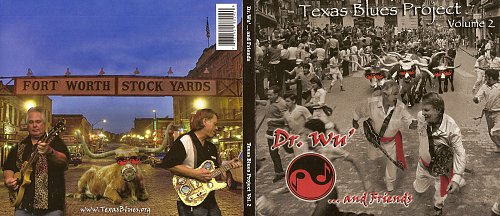 Dr. Wu' and Friends - Texas Blues Project Vol.2 (2010)