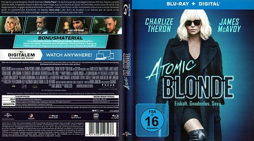 Взрывная блондинка / Atomic Blonde (2017)
