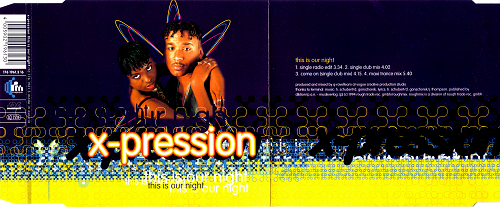 X-Pression - This Is Our Night (1994)