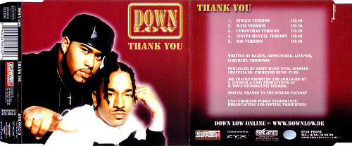 Down Low - Thank You (2001)