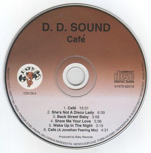 D.D. Sound - Café (1978/2018)