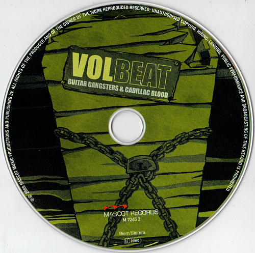 Volbeat - Guitar Gangsters & Cadillac Blood (2008)